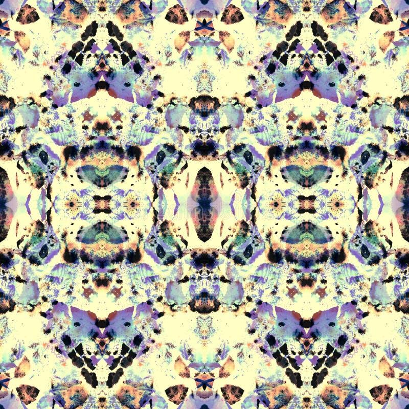 Boho kaleidoscope pattern. royalty free stock image