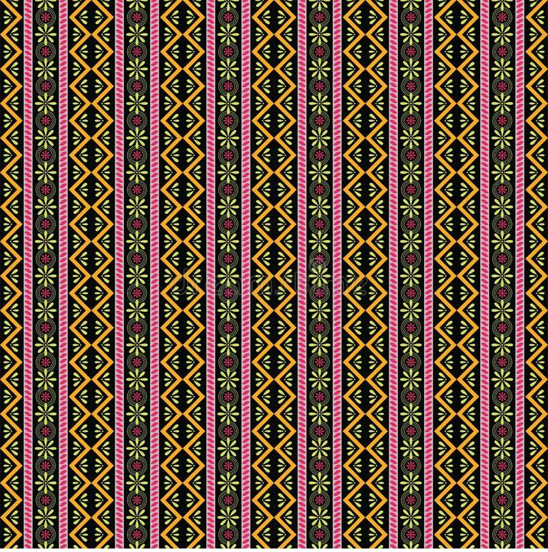 Boho pattern with beautiful design 1 vector illustration
