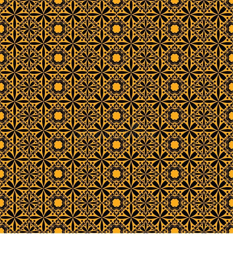 Boho pattern with beautiful design 2 royalty free illustration