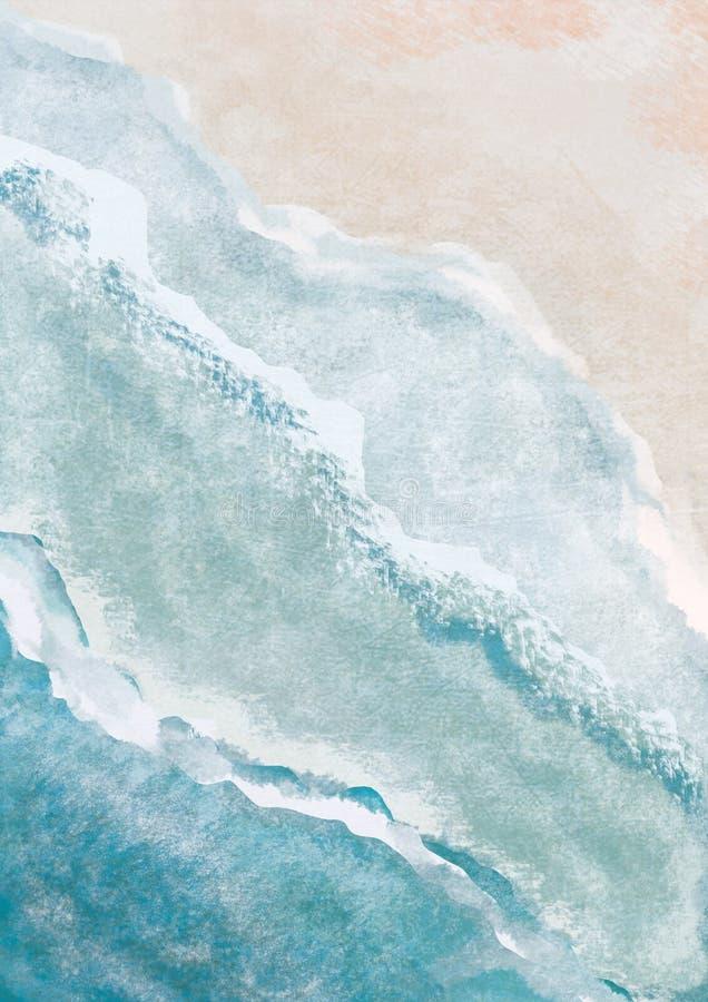 Beach Boho Bikini Watercolor Art Print