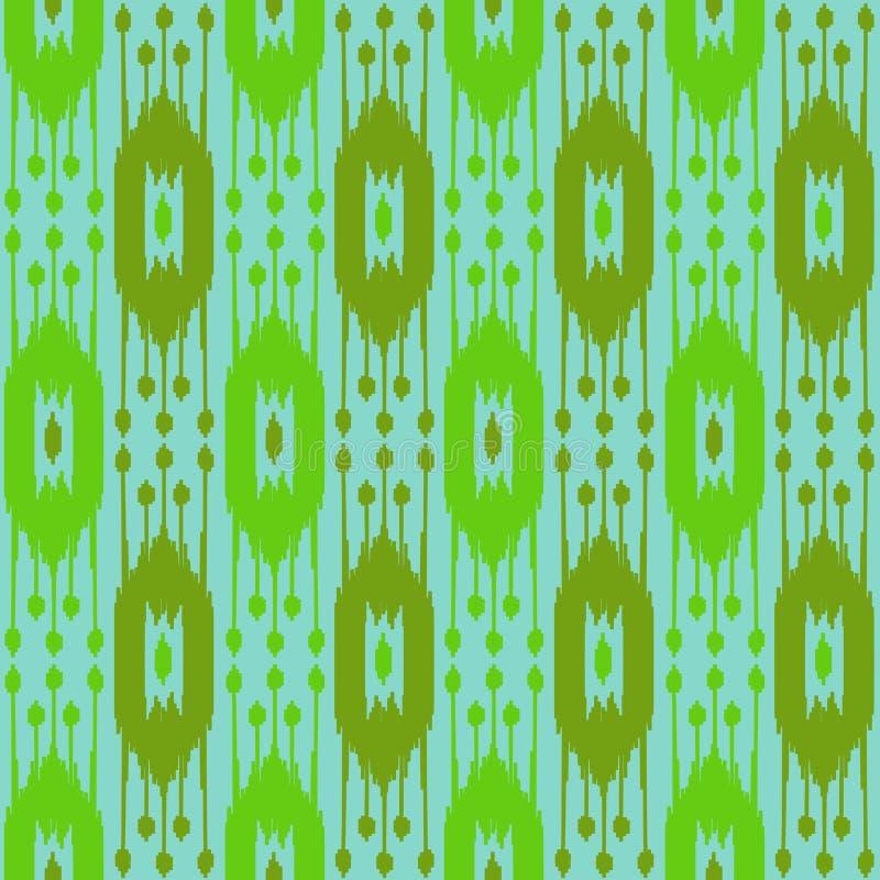 Boho-Sommer-nahtloses Muster lizenzfreie abbildung