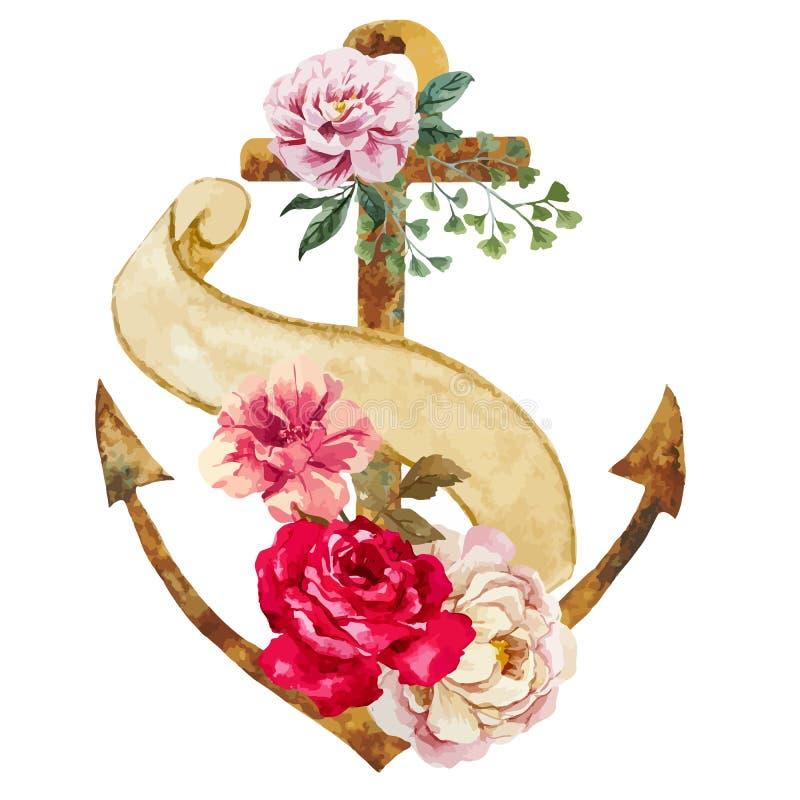 Boho styl royalty ilustracja