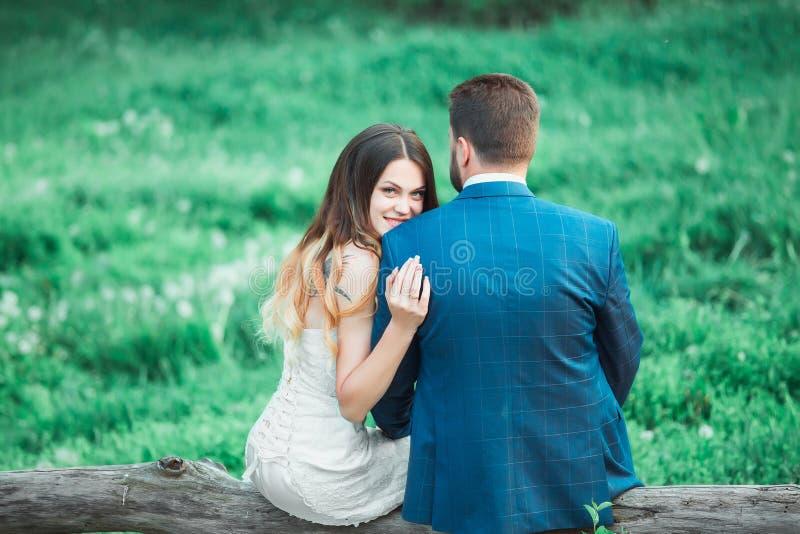 Boho style wedding stock image