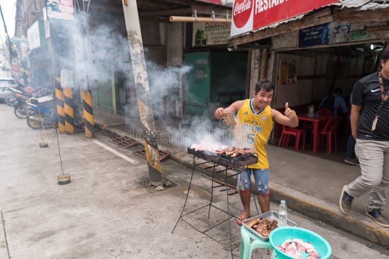 BOHOL, ΦΙΛΙΠΠΊΝΕΣ - 14 ΦΕΒΡΟΥΑΡΊΟΥ 2018: Εικονική παράσταση πόλης του νησιού Bohol στις Φιλιππίνες στοκ φωτογραφία
