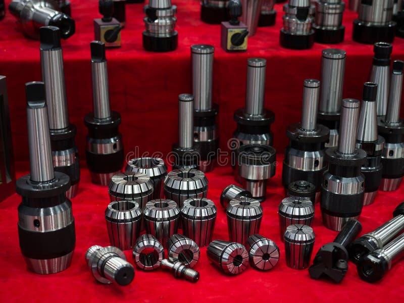 Bohrender Halter der hohen Präzision, Prägeklemme und Metallring für hig stockfotografie