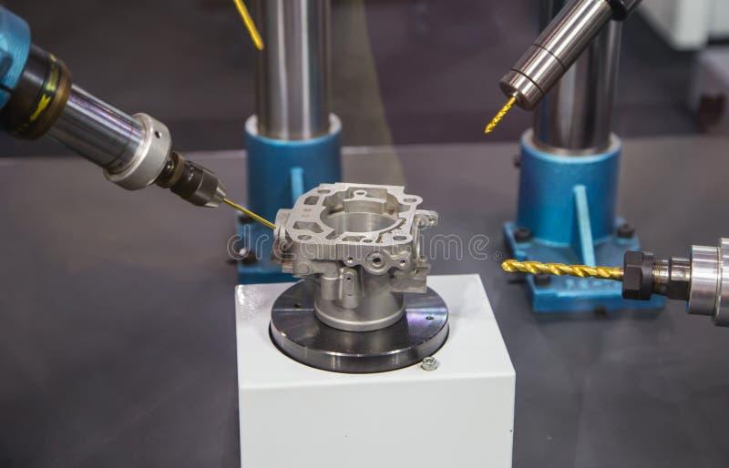 Bohrmaschine des Roboters lizenzfreies stockbild