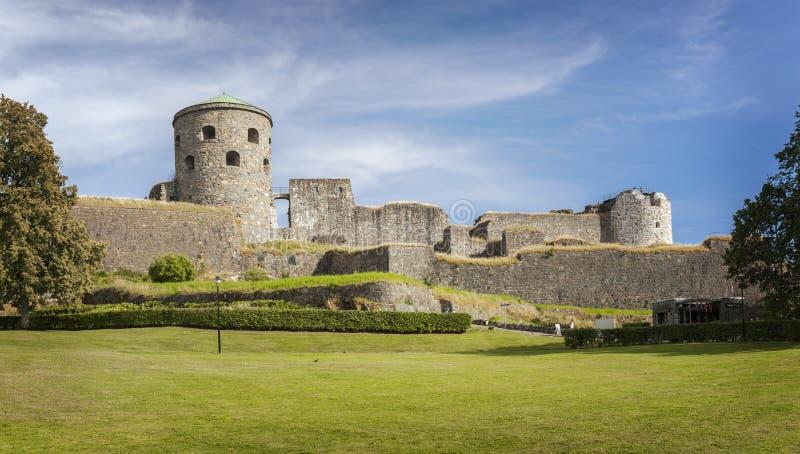 Bohus堡垒在瑞典 库存照片