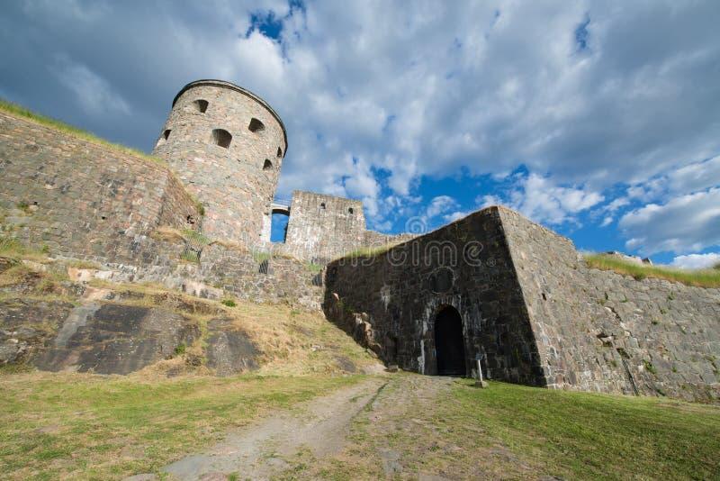 Bohus-Festung stockfotos