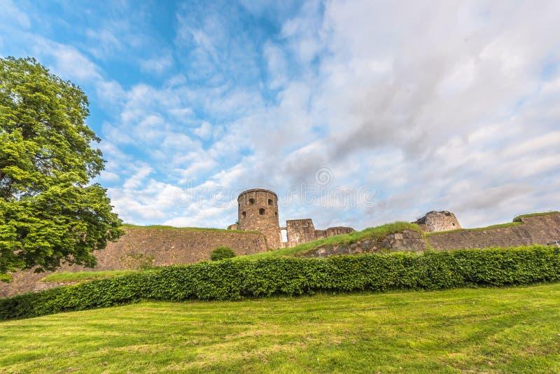 Bohus-Festung stockbild