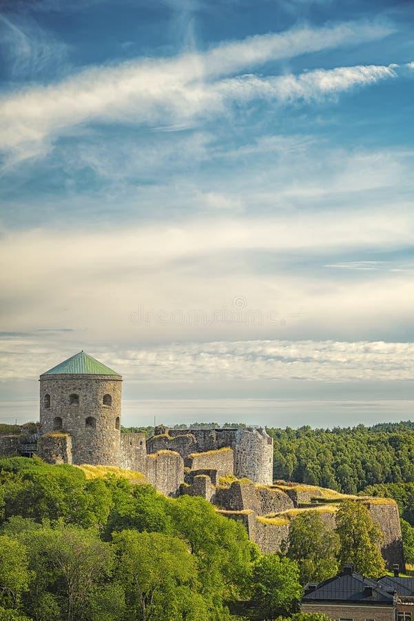 Bohus Fortress Ruin stock image