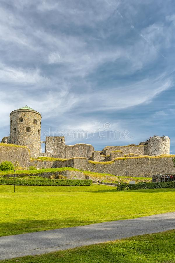 Bohus Fortress in Sweden stock images