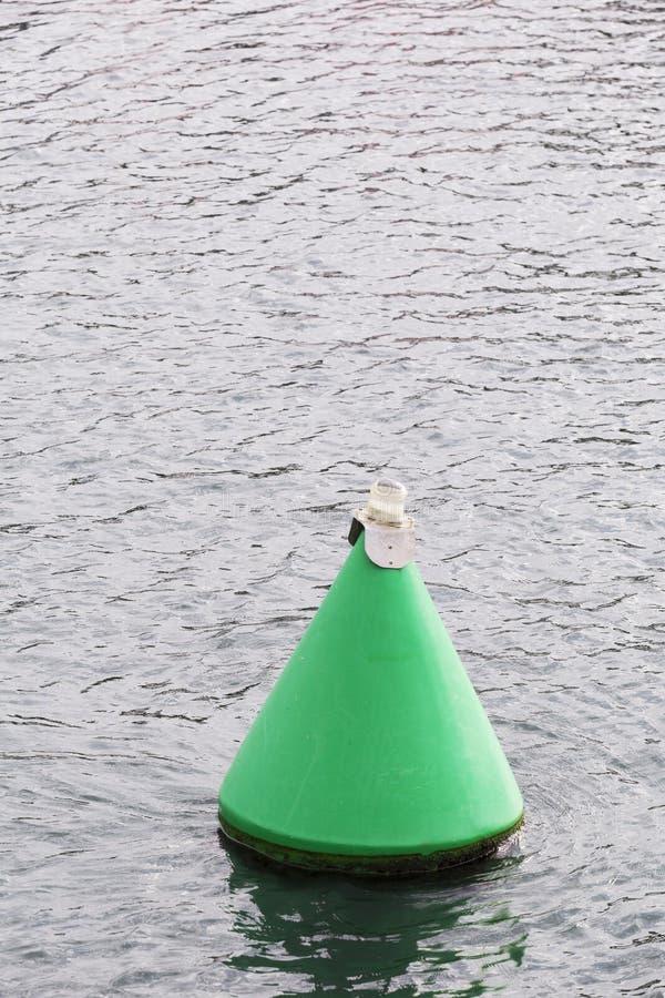 Boia da segurança no mar fotografia de stock royalty free