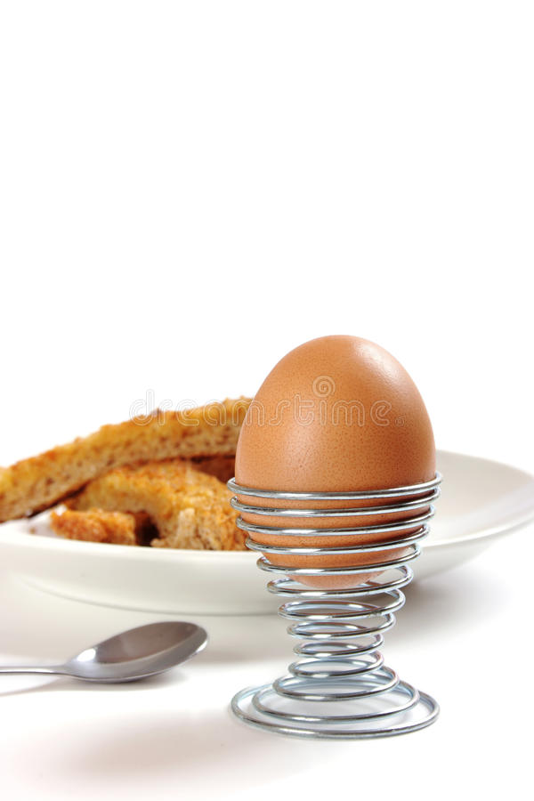 Free Boiled Egg With Toasted Soldiers Royalty Free Stock Photos - 18245728