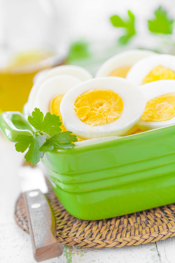 Download Boiled eggs stock photo. Image of cooked, nutrient, delicious - 38349100