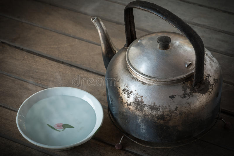 Boiled water royalty free stock images
