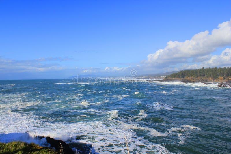 Boiler Bay stock photography
