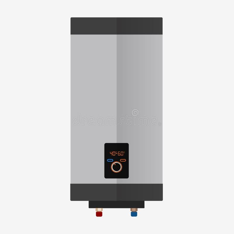 Boiler vlak pictogram vector illustratie