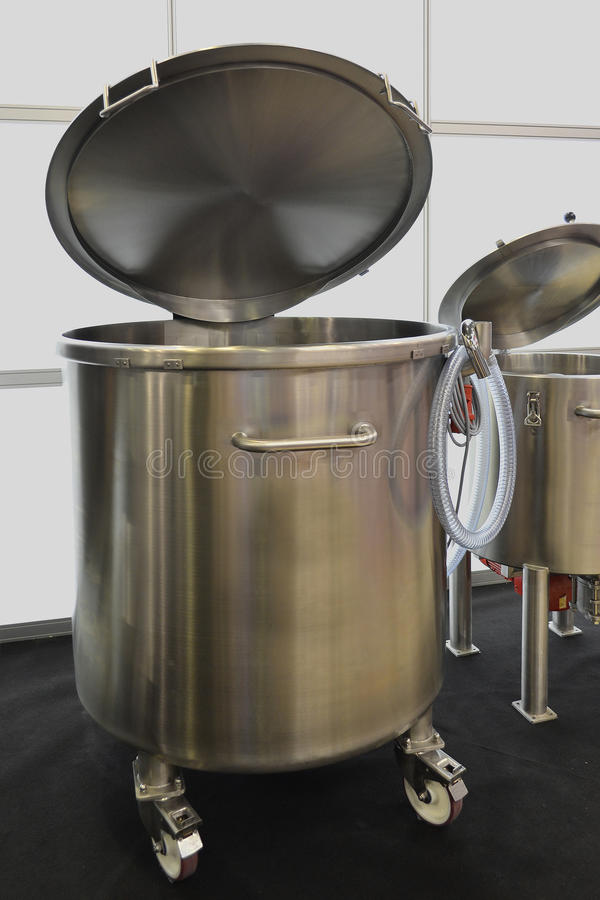 Boiler voor het koken royalty-vrije stock afbeeldingen