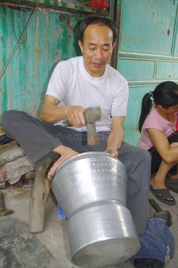 Boilermaker do artesão fotos de stock