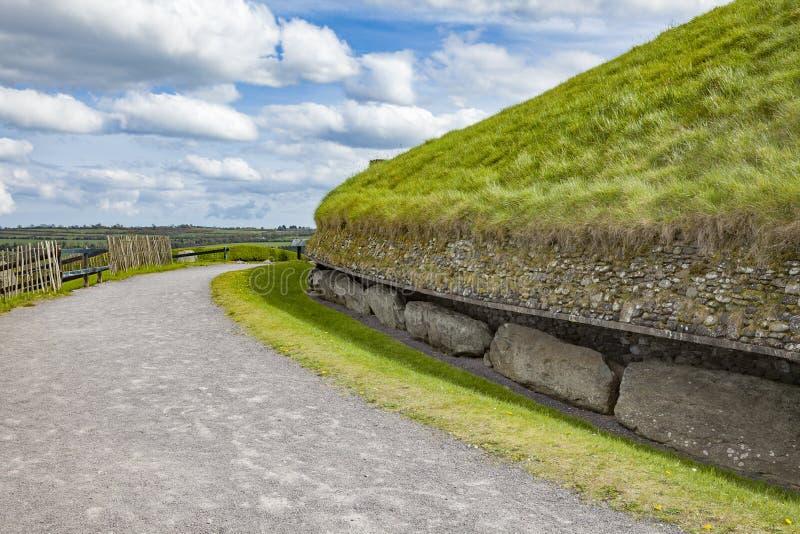Boinne do na do bru de Newgrange imagens de stock