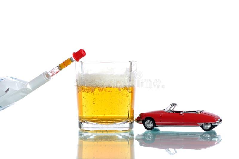 Boire conduisant deux photographie stock