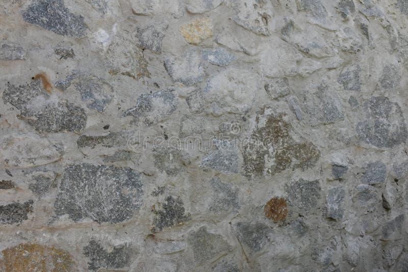 Bois de bâtiment de ciment de brique de brique d'écorce d'arbre de composition en fond, illustration libre de droits