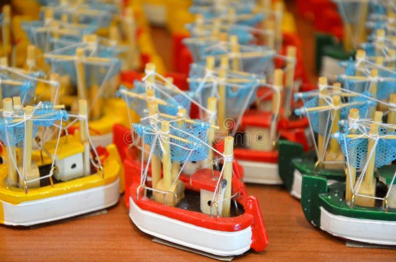 Bois de bateau de jouet photo libre de droits