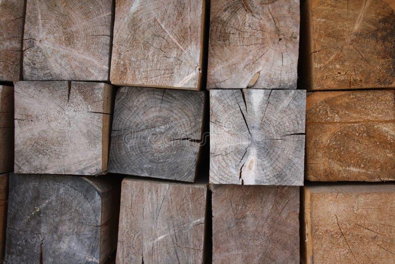 Bois de charpente de pin images libres de droits