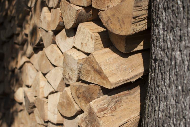 Bois de chauffage 2 photos stock