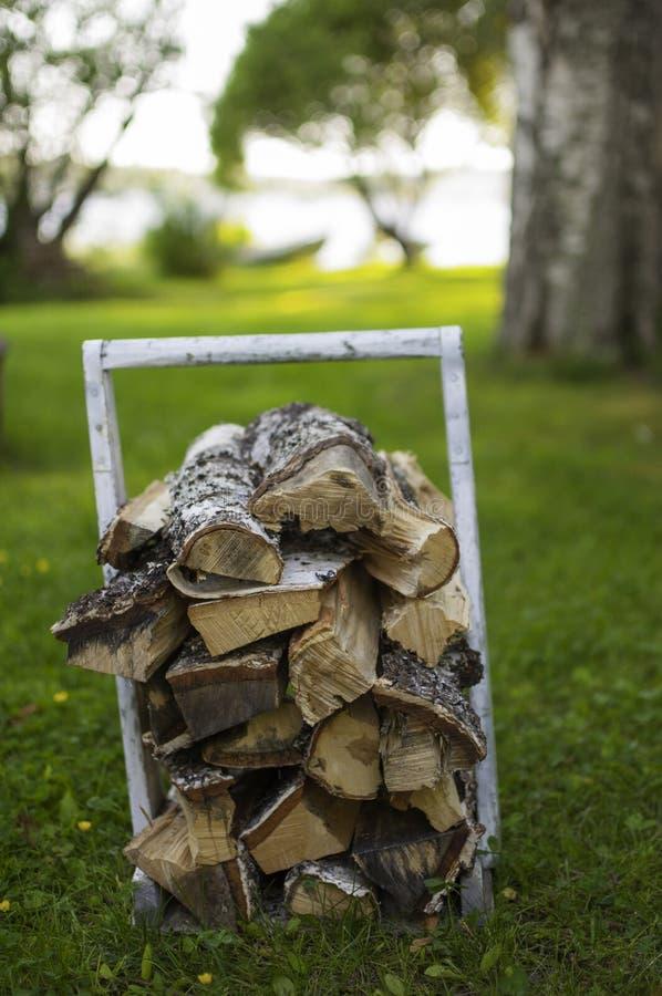 Download Bois De Chauffage Pour Le Sauna Photo stock - Image du brun, essence: 56486718