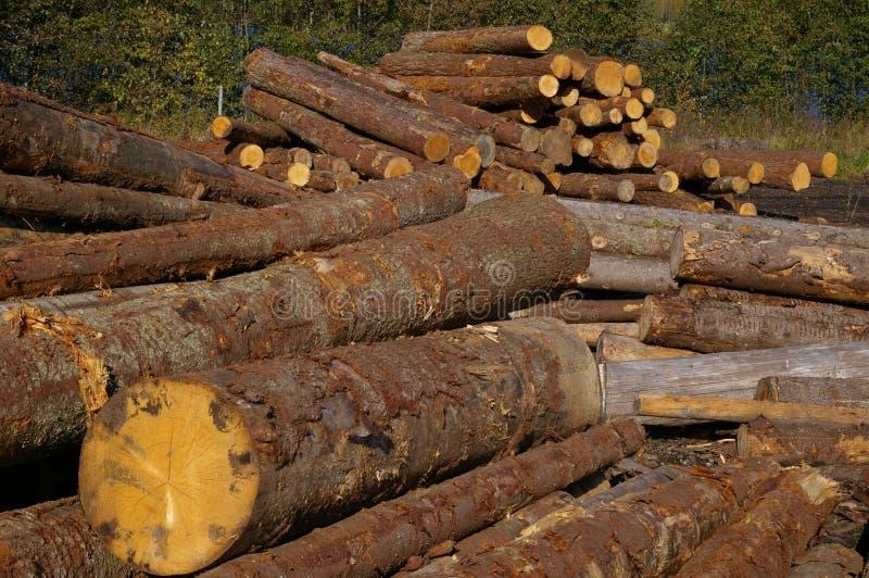 Bois de construction photographie stock libre de droits
