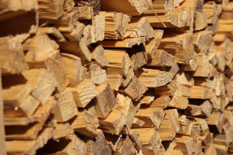Bois de construction en bois photo libre de droits