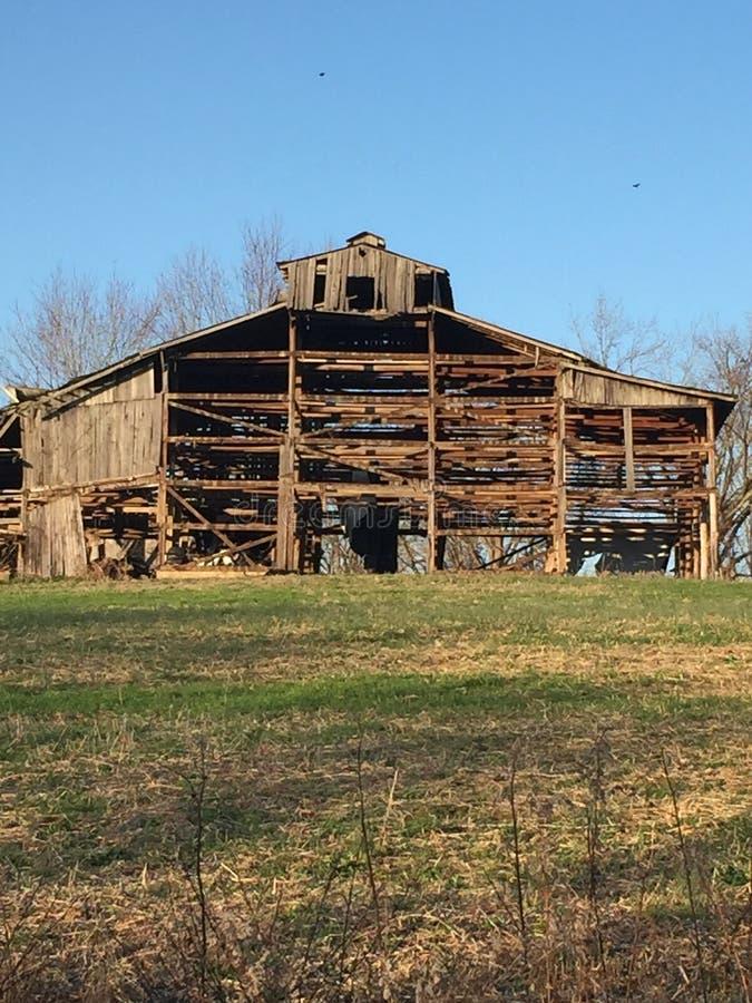 Bois de grange photo libre de droits