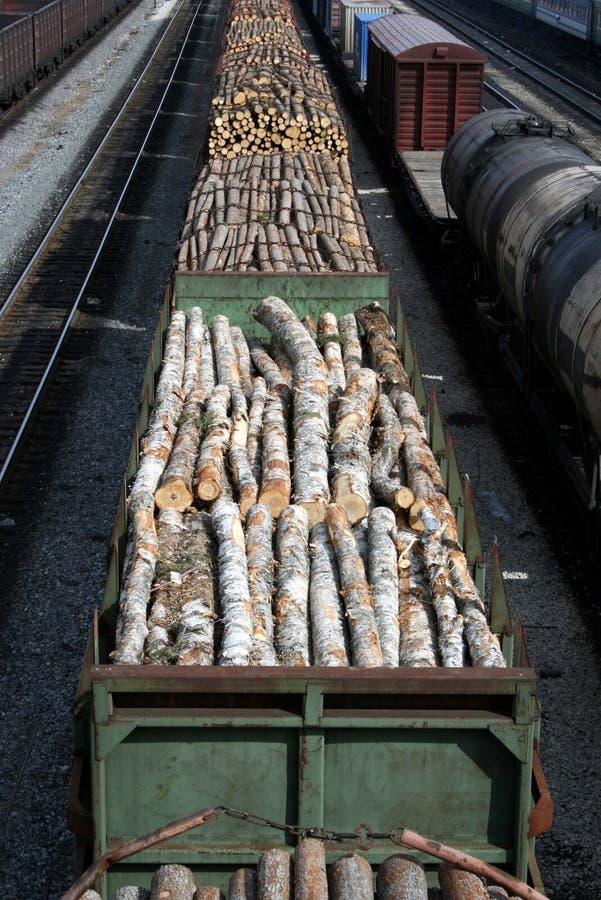 Bois emballés photo stock