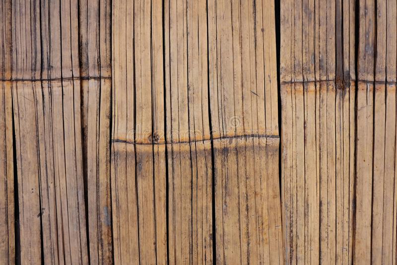 Bois en bambou photographie stock libre de droits