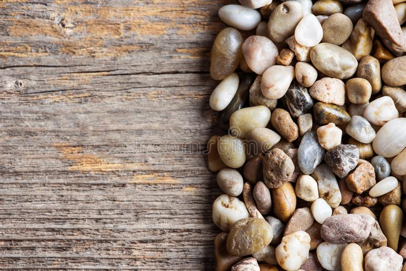 Bois et pierres image libre de droits