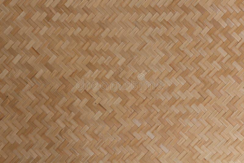 Bois, fond en osier de texture de bambous image libre de droits