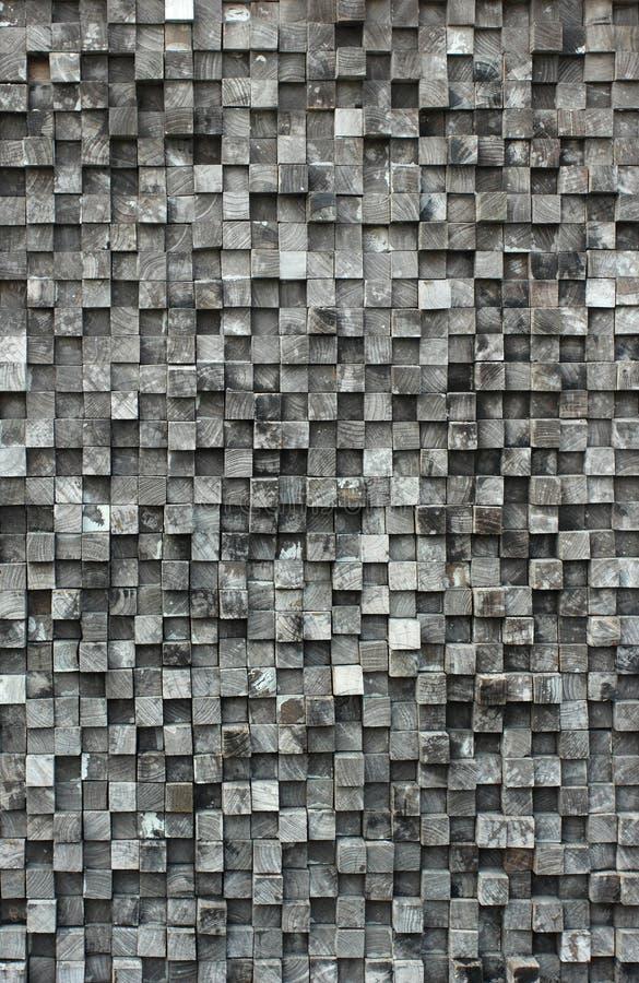Bois noir de cube images libres de droits