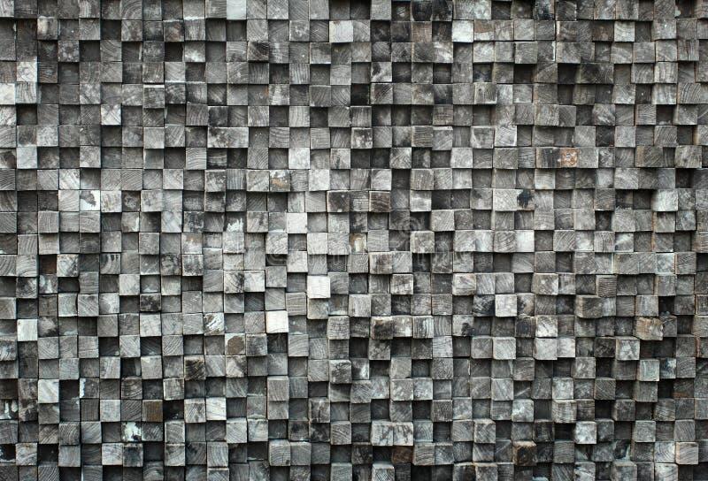 Bois noir de cube photos libres de droits