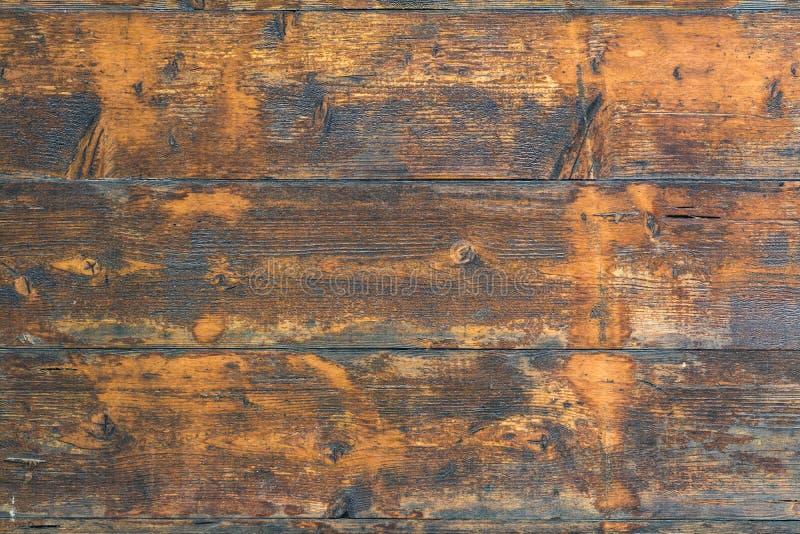 Bois rustique foncé de hutte photo stock