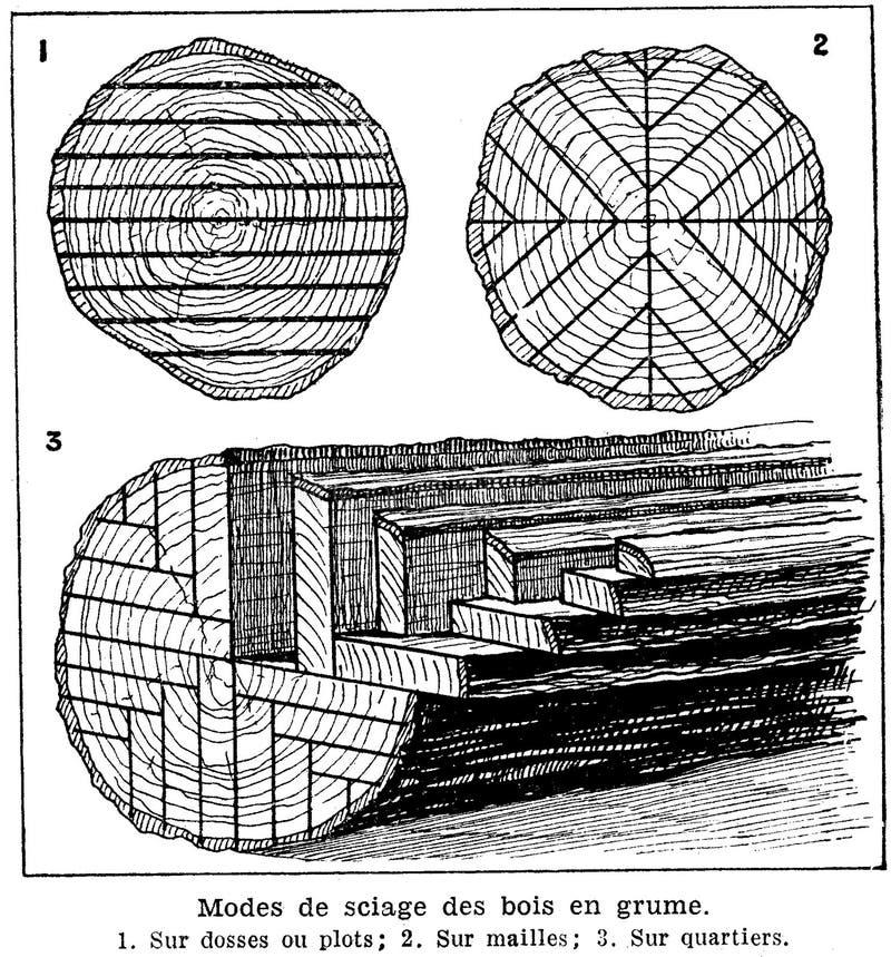 Bois-sciage En Grume Free Public Domain Cc0 Image