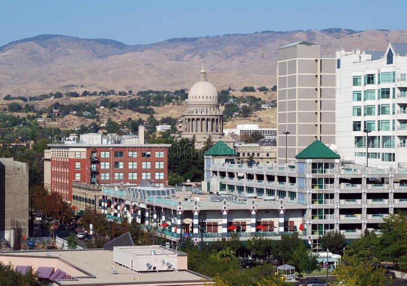 Boise del centro fotografie stock libere da diritti