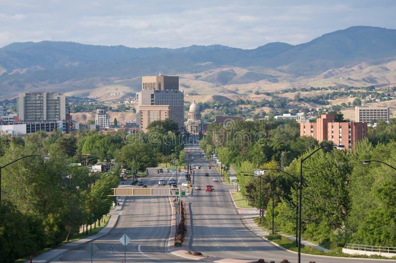 Boise del centro, Idaho fotografia stock