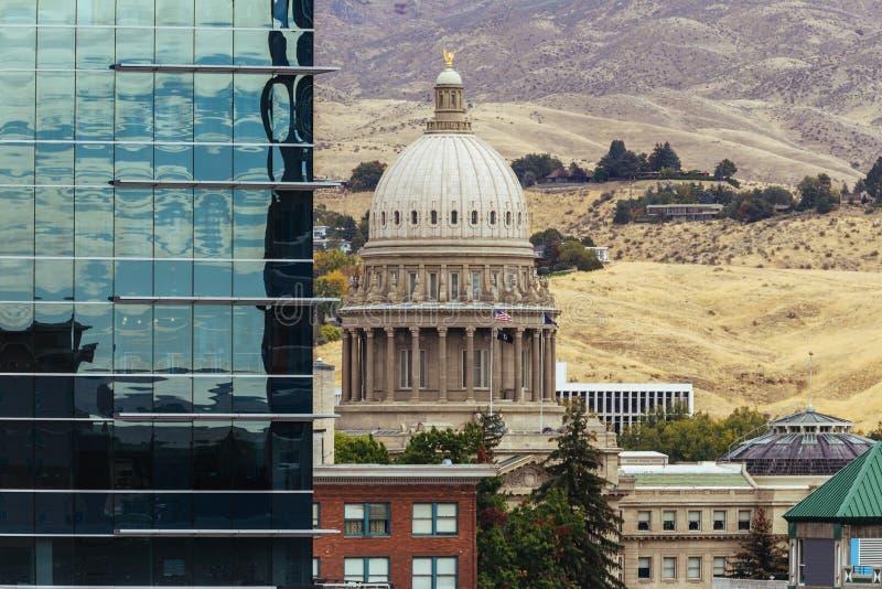 Boise del centro, Idaho immagine stock libera da diritti