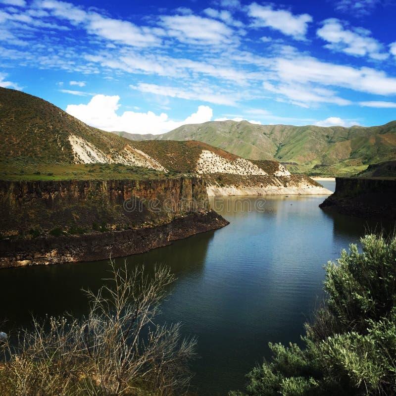 Boise Idaho fotografie stock libere da diritti