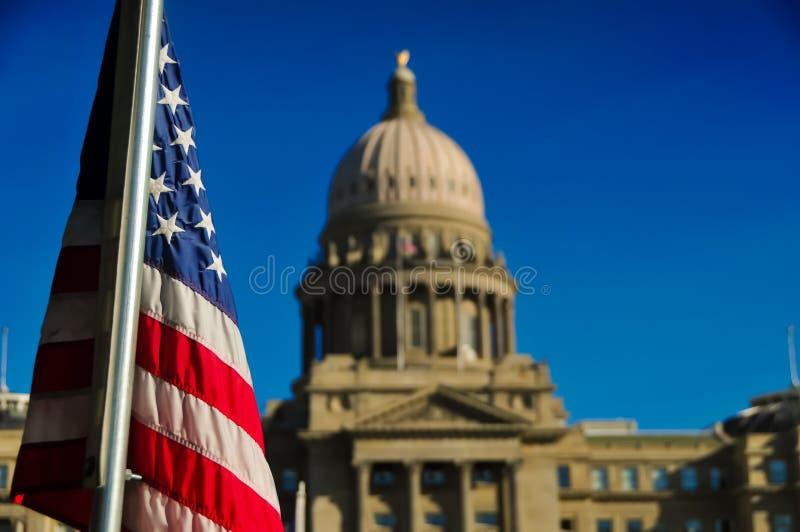 Boise Idaho Capital fotografie stock libere da diritti