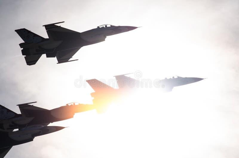 Boise, Idaho, usa †'Październik 15, 2017 Stany Zjednoczone siły powietrzne thunderbirdy wykonuje przy Gowen Grzmią Airshow obrazy royalty free