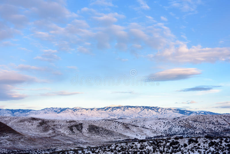 Boise Mountains immagine stock
