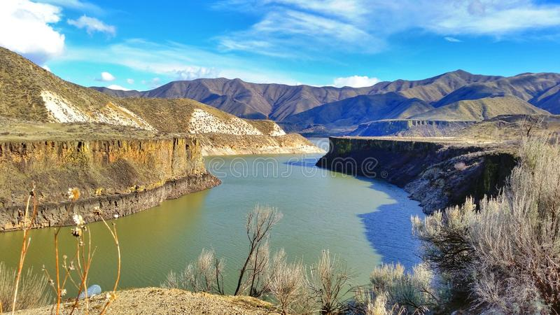 Boise River. Lucky Peak, More's Creek to Idaho City stock photography