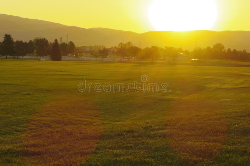 Boise Socer Park photos libres de droits